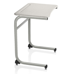 "Cantilever Laminate Top Desk - 25""H, 14034"