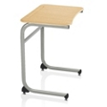 "Cantilever Laminate Top Desk - 29""H, 14038"