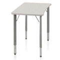 ADA Adjustable Height Four-Leg Laminate Top Desk , 14052