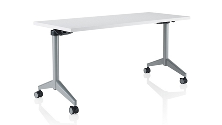 "Rectangular Flip-Top Training Table - 60""W x 30""D, 46688"