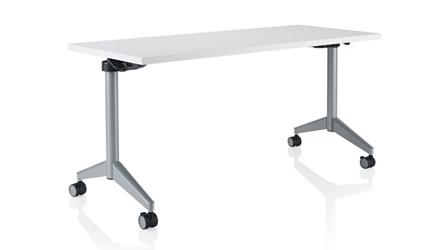 "Rectangular Flip-Top Training Table - 60""W x 30""D, 46688"