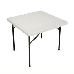 "Lightweight Square Folding Table - 36"", 41549"