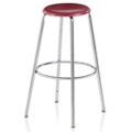 "Student Stool with Hard Plastic Seat - 30""H, 50031"