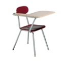 Student Right Tablet Arm Chair with Book Rack, 51526
