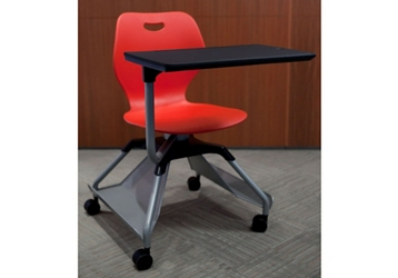 Learn2 Mobile Chair Desk with Hard Floor Casters, 51743