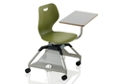 Learn2 Mobile Chair Desk with Cup Holder and Hard Floor Casters, 51745