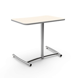 "Cantilever Desk with Comfort Curve - 30""W x 26""H, 16041"