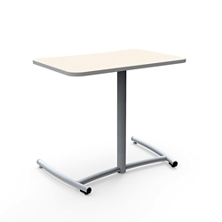 "Cantilever Desk with Comfort Curve and Back Casters - 30""W x 26""H, 16043"