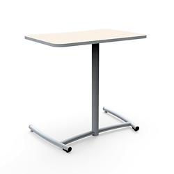 """Cantilever Desk with Comfort Curve and Back Casters - 30""""W x 29""""H, 16044"""