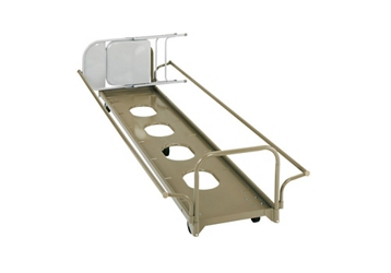 Under Stage Chair Caddy with Adjustable Handle, 83062