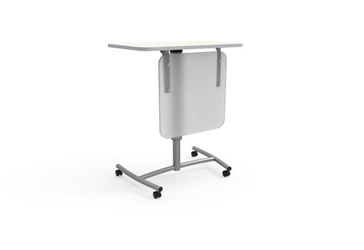 "Adjustable Height Mobile Lectern with Modesty Panel - 30""Wx20""D, 16508"