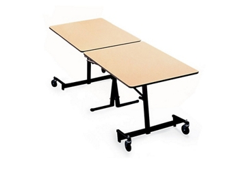 "Folding Cafeteria Table with T-Leg – 120""W x 30""D, 46706"