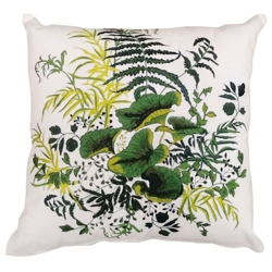 """kathy ireland by Nourison Lily Pad Square Pillow - 20"""" x 20"""", 82272"""