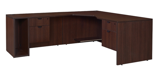 Angled L Desk Left Return, 13148