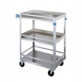 "Lakeside 24""x16"" Utility Cart with Guard Rails and Supports 300 lbs, 31799"