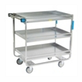 "Lakeside 33""x21"" Utility Cart with Guard Rails and Supports 700 lbs, 31801"
