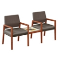 2 Chairs with Center Table, 76635