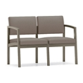 Two Seat Designer Sofa with Steel Frame, 76906