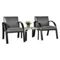 Symphony Two Guest Chairs and End Table, 76677