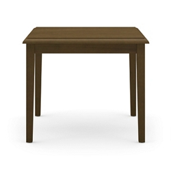 "Solid Maple Corner Table- 24""W x 24""D, 46308"