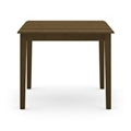 """Solid Maple Corner Table- 24""""W x 24""""D, 46308"""