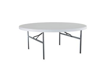 """Heavy Duty Round Folding Table - 72""""DIA, 46814"""