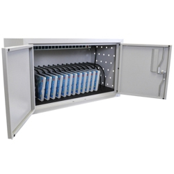 "Locking 16 Tablet Charging Cabinet - 13""H, 60031"