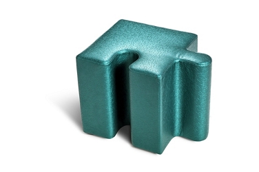 Jigsaw Pediatric Seating with One Tab and Left Corner Edge , 26741