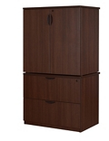 Storage and Lateral File Cabinet Combo, 31769