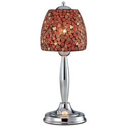 Mosaic Glass Shade Table Lamp, 82678