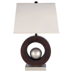 Wood Base Table Lamp, 82680