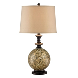 Marbleized Base Table Lamp, 87280
