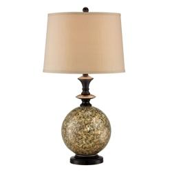 Marbleized Base Table Lamp, 87280