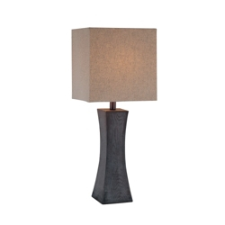 Wood Base Table Lamp, 91142