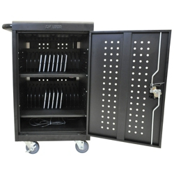 30 Tablet Steel Charging Cart, 60986