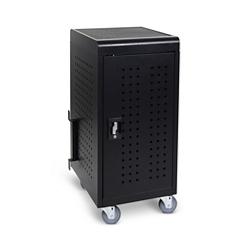 """Locking 24 Tablet Charging Cart -32.9""""H, 61015"""