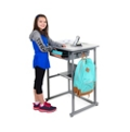 "Sit or Stand Student Desk - 27.5""W, 16503"