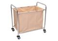 Chrome Steel Frame Laundry Cart, 87090