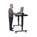 "Sit to Stand Desk with Hand Crank- 48""W, 16387"