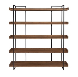"Five Shelf Bookcase Large - 75.5""H, 33057"