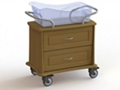 "Two Drawer Bassinet - 34""W, 26633"