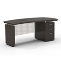 "Right Pedestal Executive Desk with Modesty Panel - 72""W, 14098"