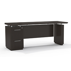 "Reversible File Pedestal Credenza with Modesty Panel - 72""W, 14106"