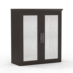 "Above Surface Acrylic Door Storage Cabinet - 36""W, 14119"