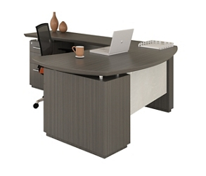 "L-Desk with Left Return - 66""W, 14867"