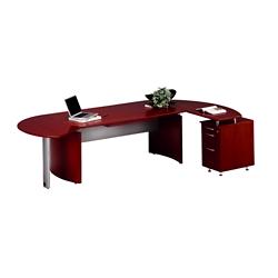 L-Desk with Right Return, 15171