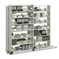 "Three Unit Legal File Track System with Seven Tiers - 36""W, 36995"
