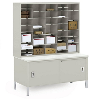 Storage Table and Mail Sorter 36684  sc 1 st  National Business Furniture & Mail Sorters u2013 Office Mailroom Organizers for Correspondence ...