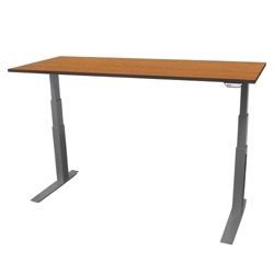 "Electric Adjustable Height Table - 72""W x 24""D, 41704"