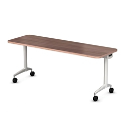 "Mobile Flip Top Nesting Table - 60""W x 24""D, 41707"